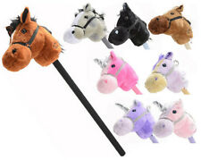 Kid's Hobby Horse With Gallop and Neigh Sounds ~ Natural and Fantasy Range