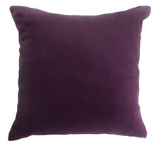 Mg02a Purple Soft Faux Micro Suede Fabric Cushion Cover/Pillow Case*Custom Size