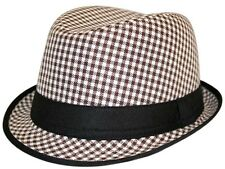 Brown Square Trilby Trilby Mens Hat,   2 sizes available £9.99 only