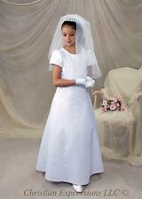 First Communion Dresses-Christian Expressions Collection v427