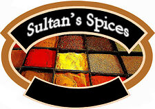 "LARGE SELECTION OF""SULTAN SPICES"" fresh SEASONING Middle eastern  Quality AAA"