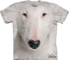 Bull Terrier Dog Face The Mountain Adult & Youth (Child) T-Shirts