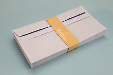 HIGH QUALITY DL 80gsm WHITE SELF SEAL ENVELOPES. PLAIN / WINDOW. (110mm x 220mm)
