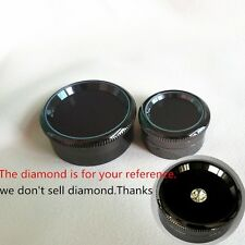 LOOSE DIAMOND DISPLAY CASE ALLOY HOLDER GEM GEMSTONE SHOW STORAGE CONTAINER