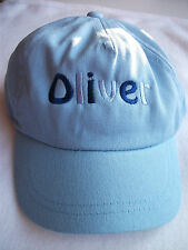 BABY TODDLER BASEBALL CAP GIRLS 4 COLOURS 3 SIZES PERSONALISED WITH A NAME NEW