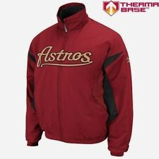 NWT Mens Sz 2XL MAJESTIC MLB Houston Astros Baseball Triple Peak Premier Jacket
