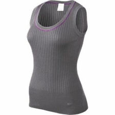 NIKE GOLF Grey Sleeveless Ribbed Pullover Sweater Vest NWT NEW Womens Size XS L