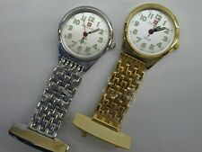 Nurses Fob Watch ( Silver or Gold Colour ) With Free Gift Tin by Reflex