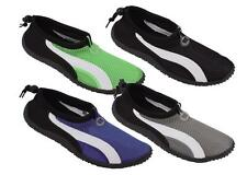 Men Slip On Water Shoes Aqua Socks Pool, Beach, Yoga, Exercise Size 7-12 #5908