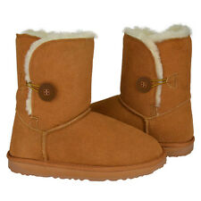 Bailey Button Ugg Boots Premium Australian Sheepskin Womens Ladies sizes 5-10