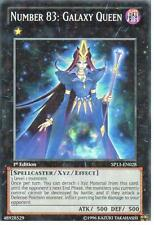 YU-GI-OH STAR RARE: NUMBER 83: GALAXY QUEEN - SP13-EN028 - 1st EDITION