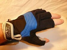 Warmers Barnacle Half Finger Blue Gloves for Kayaking Boating Sailing