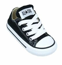 Converse Chuck Taylor Ox Black White Infant Toddler Boy Girl Shoes Size 2-10