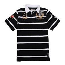 KEVINGSTON VINTAGE NEW ZEALAND NO.9 RUGBY POLO JERSEY MULTIPLE SIZE