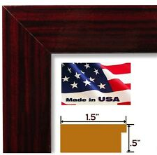 High Gloss Red Cherry Poster Photo FRAME  Wood Composite 8 in WIDE