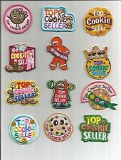 Girl Scout/Guides Patch/Crest/Badge  TOP COOKIE SELLER   (your choice)