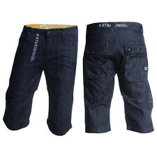 Mens SOUL STAR MST RYDE DENIM 11 Denim Blue Dark Wash Shorts WAS £49.99 60% OFF