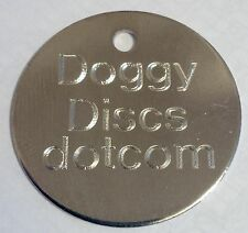 Pet Tags Engraved-30mm-COMPUTER Engraving-FREE Post_High Quality
