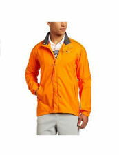 PUMA Golf Mens Full Zip Storm Cell Pro Golf Jacket Orange Wind Water Proof NWT
