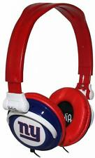 New York Giants NFL Ihip Extra Point Headphones Ipod Iphone MP3 Compatible