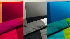 IKEA BRUNKRISSLA Twin Duvet Quilt Cover set Black Gray Red Orange Blue Green NEW