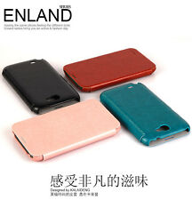 KLD Enland Style Flip PU Leather Case Cover for Samsung Galaxy Note II 2 N7100