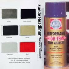 Suede Headliner Kit:  3 Yards of Suede Fabric + 2 Cans Spray Adhesive