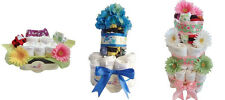 MiniBums Bamboo Cloth Diaper Gifts, Cloth Diaper Cakes, Stroller, Baskets