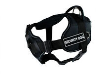 "Dean & Tyler ""DT Fun with Chest Support"" Dog Harness with Serious Patches"