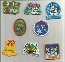 Boy/Girl Scout/Guide Patch/Crest/Badge   CAROLING   (your choice)