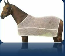 Brand New Black Color Horse Net Cooler Rug Anti Sweat Rug, Meash Polyster