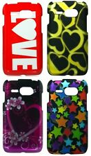 For Kyocera Event Colorful Hearts Stars Hard Cover Cases C5133