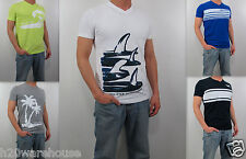 NWT HOLLISTER HCO Men Muscle Slim Fit Boomer Beach T Shirt Tee By Abercrombie