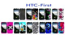For HTC First Facebook Cover Case + LCD Screen Protector