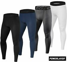 Mens Boys Body Armour Compression Base Layer Leggings Thermal Under Gear