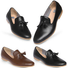 New Mooda Stylish Tassel Mens Leather Slip On Casual Dress Shoes Nova