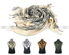 Military Shemagh Tactical Arab Desert Keffiyeh Scarf Mask Head Wrap 4 colors