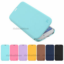 FEELOOK SLIM FLIP LEATHER WALLET COVER HARD CASE FOR SAMSUNG GALAXY S4 IV I9500