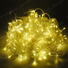 warm White 32.8FT 10M 100LED String fairy Light Decoration Christmas Xmas party
