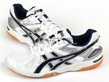 Asics Rote Rivre FL 5 White/Navy Blue Sports Volleyball Badminton TVR149-0150