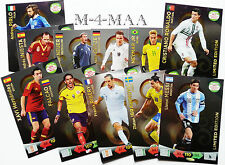 Choose Your ROAD TO 2014 WORLD CUP LIMITED EDITION Panini Adrenalyn XL BRAZIL