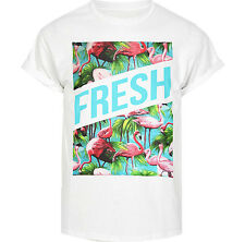 FLAMINGO FRESH TSHIRT HYPE HIPSTER SWAG MENS URBAN TOP MAN FASHION OUTFITTERS