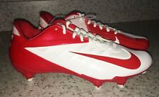 NEW Mens Sz 15 16 NIKE Vapor Pro D Detachable Low Football Cleats Red White