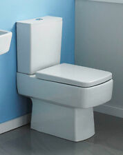 610 Square Compact Small Mini Short Projection Close Coupled Space Saver Toilet