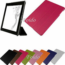 Ultra Slim Leather Smart Case Cover for the new iPad 4 Retina, 3, 2 + Sleep Wake