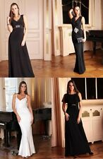 Long Ladies Women Sale Formal Party Prom Evening Wedding Maxi Dress Size 8 - 22