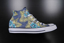 [136552F] NEW MENS CONVERSE CHUCK TAYLOR ALL STAR CT HI FLORAL NAVY YELLOW CM48