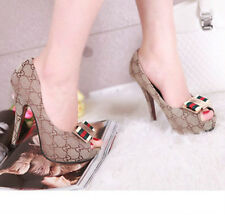 Hot Sell Fashion Woman's Roman Toe Peep Toes Heels Shoes Sandals Y1#