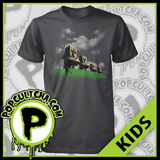 Minecraft - Statues Grey Kids T-Shirt by J!NX (Jinx)