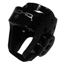 New Taekwondo Karate MMA Sparring Macho Dyna Head Gear Guard Protector Black